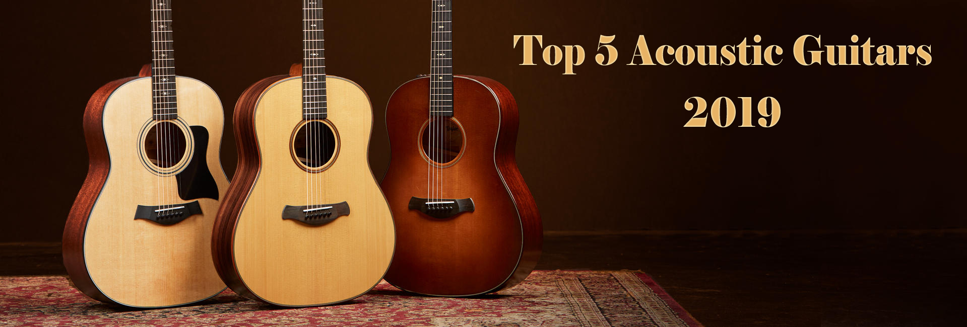 Top 5 Acoustic Guitars in 2020 - Beginners Starter Kit