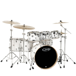 Pacific Drums PDCM2217PW 7-Piece Jazz Drum set