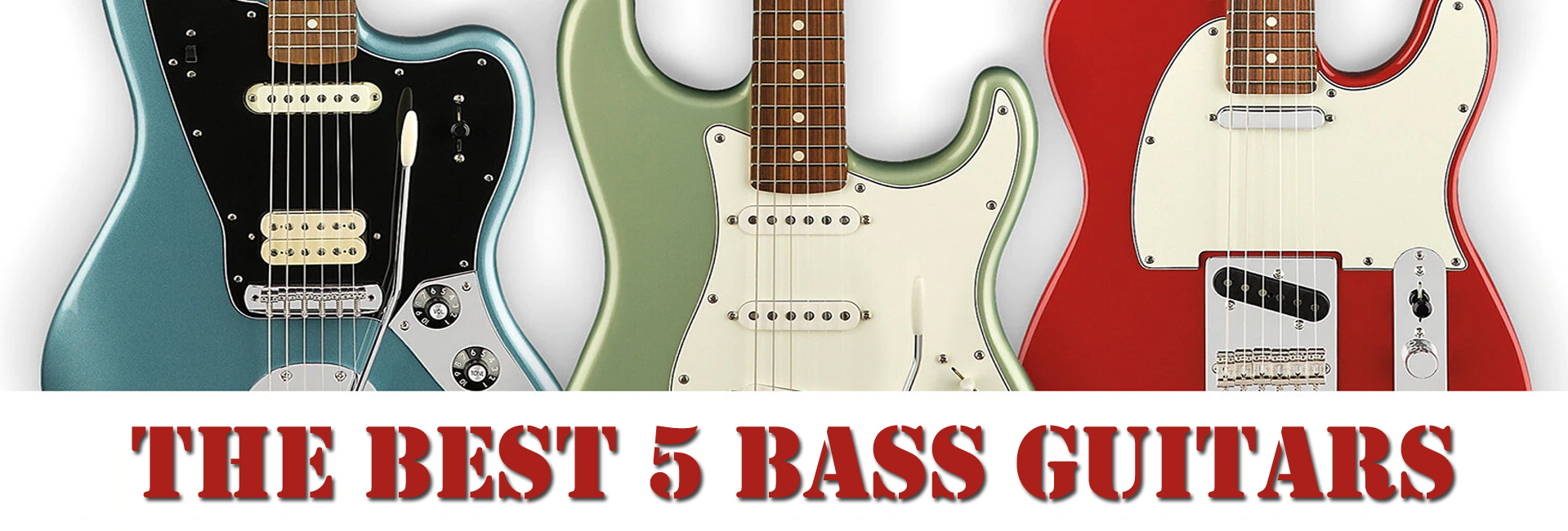 The Best 5 Bass Guitars of 2020 - Top 5 Rated Reviews