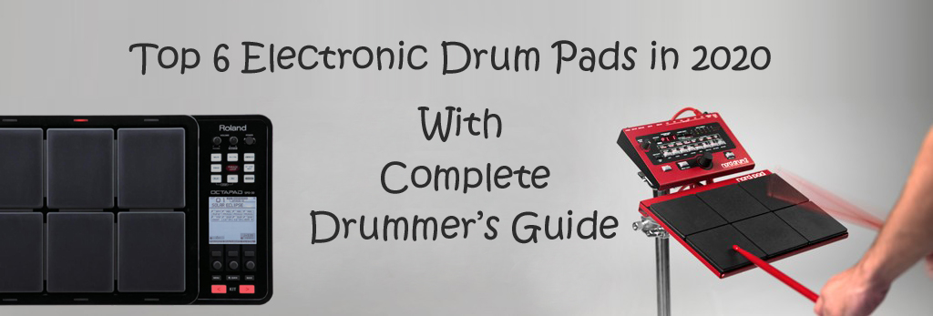 electronic drum pad banner