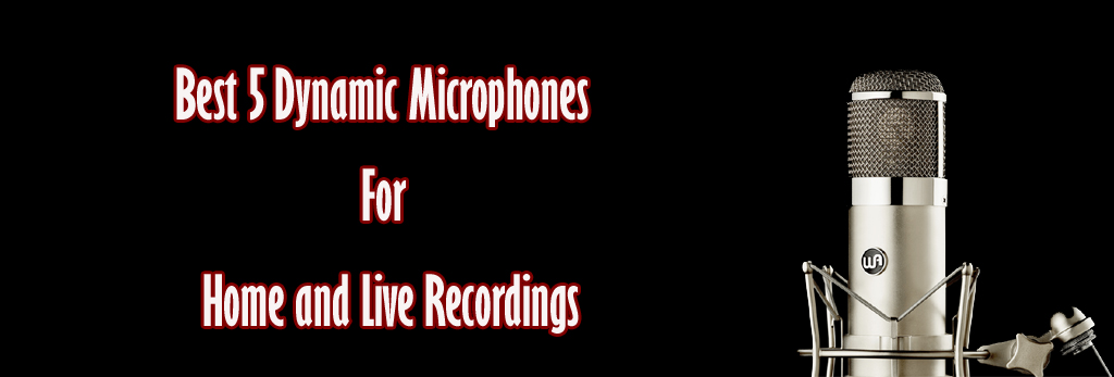 Best 5 Dynamic Microphones for Home and Live Recordings
