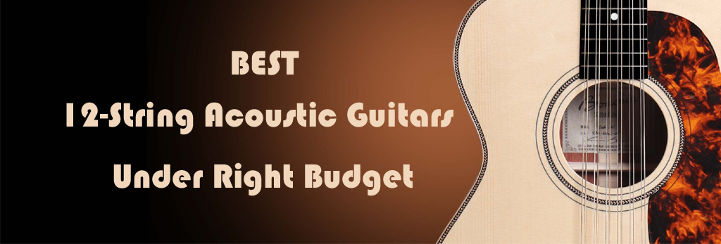 Best 12-String Acoustic Guitars Under Right Budget