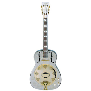 Dean Chrome G Round Neck Resonator Guitar