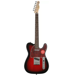 Squier by Fender Standard Telecaster Jazz Electric Guitar